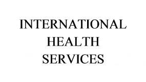 International Health Services page banner